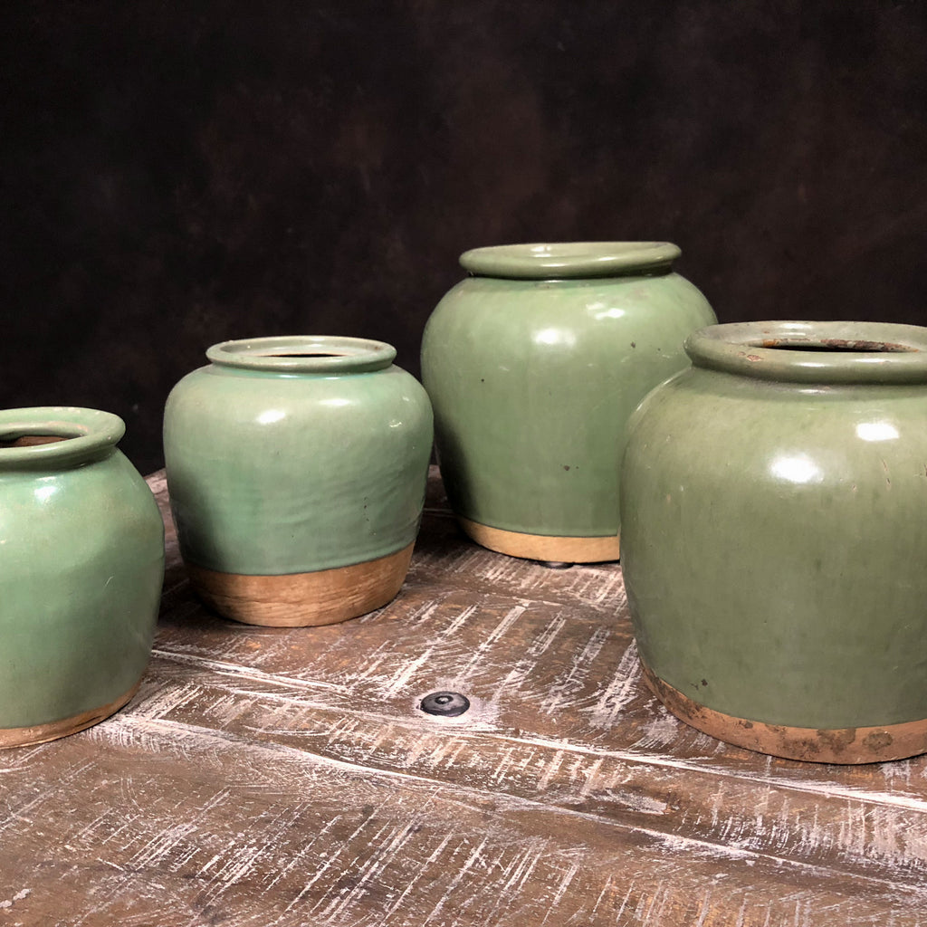 Antique Celadon Jar, X-Large_Royal Circus