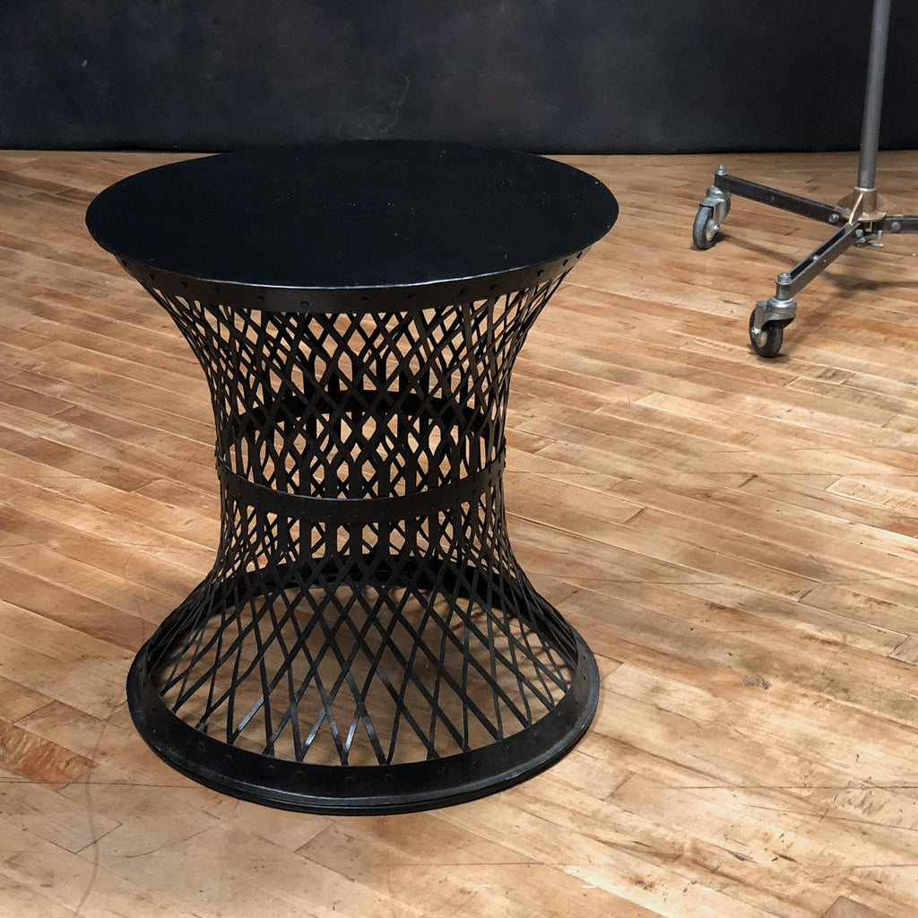 Woven Metal Table