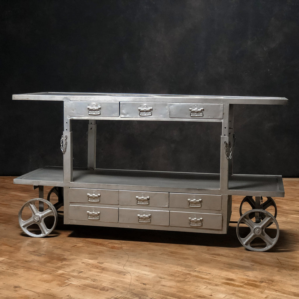 Ingenious Adjustable Trolley, Silver - Royal Circus