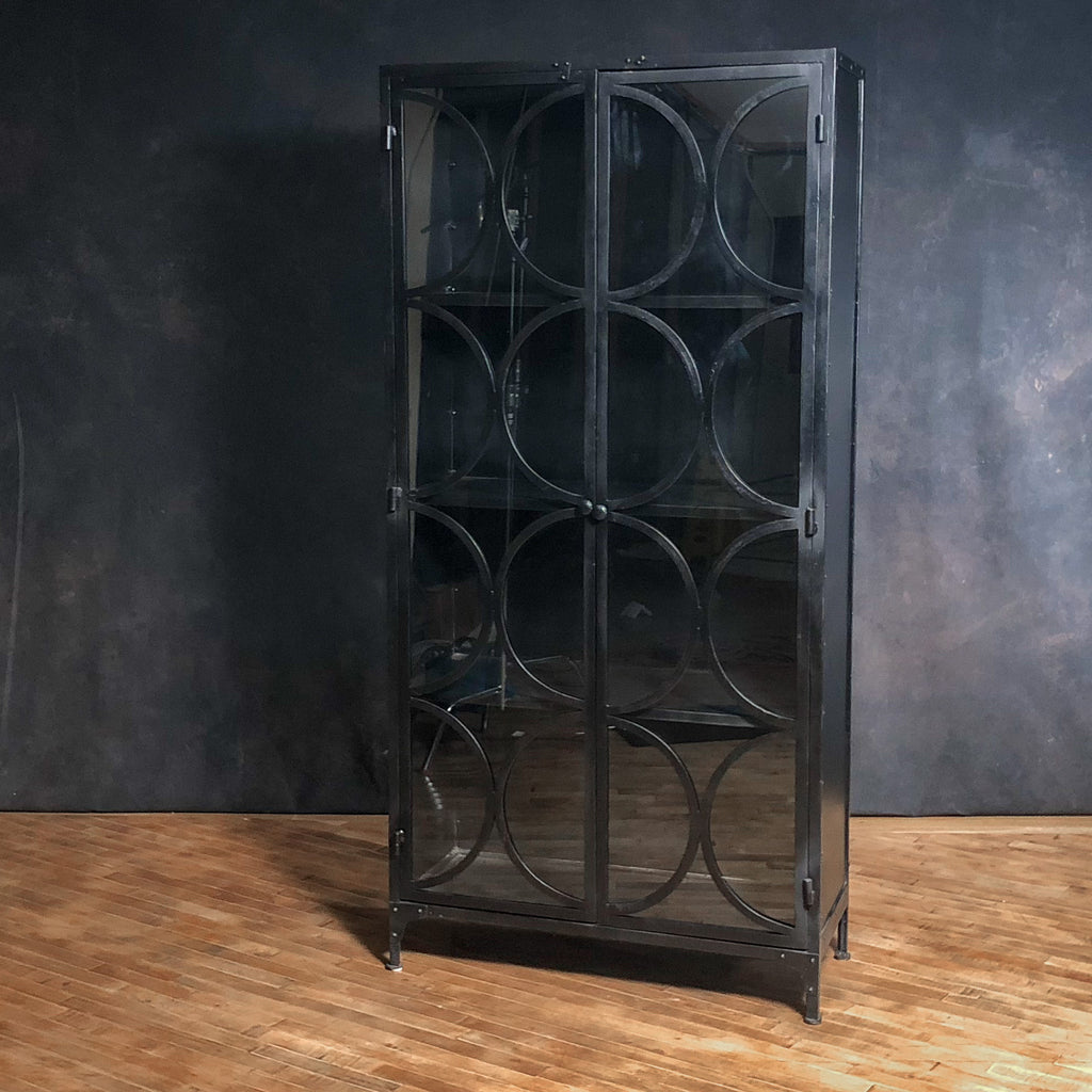 Iron + Glass Cabinet #1_Royal Circus
