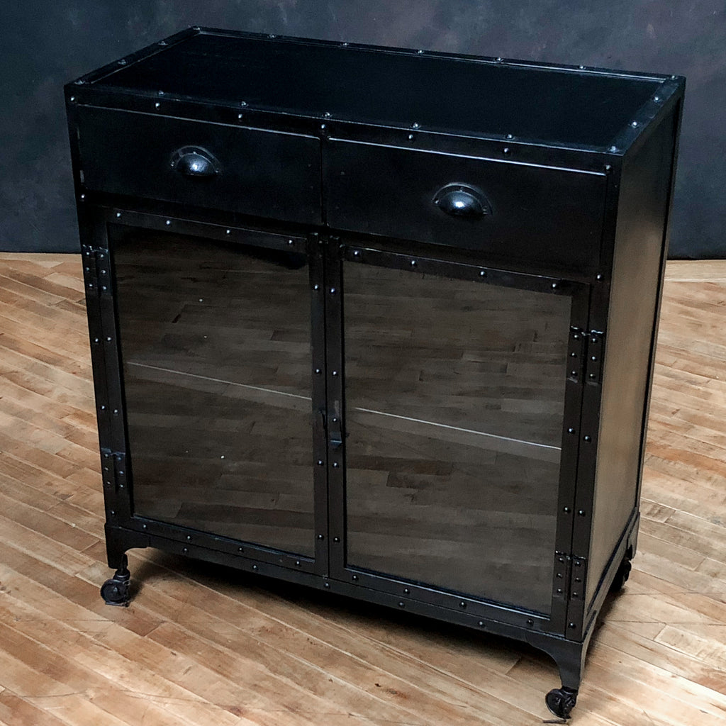 Iron + Glass Laboratory Cabinet_Royal Circus
