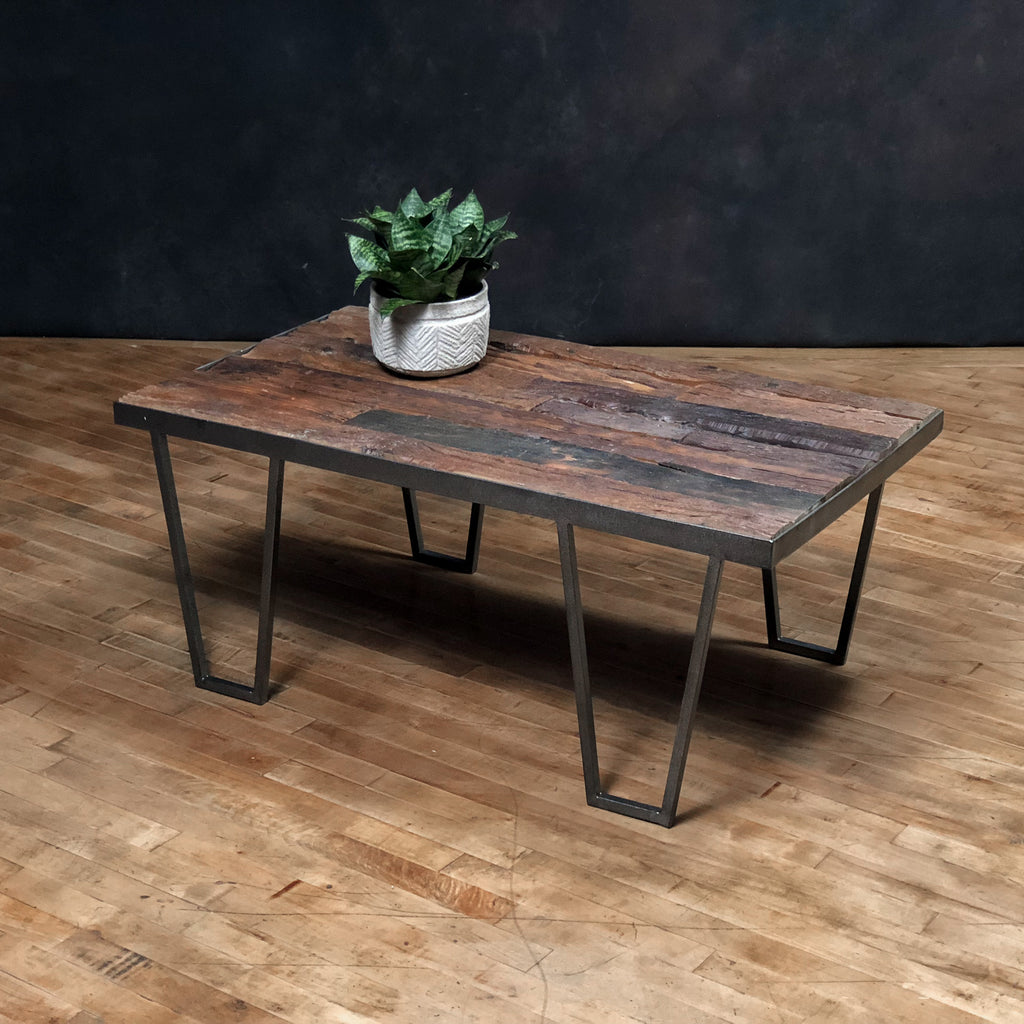 Iron + Wood Coffee Table #4_Royal Circus