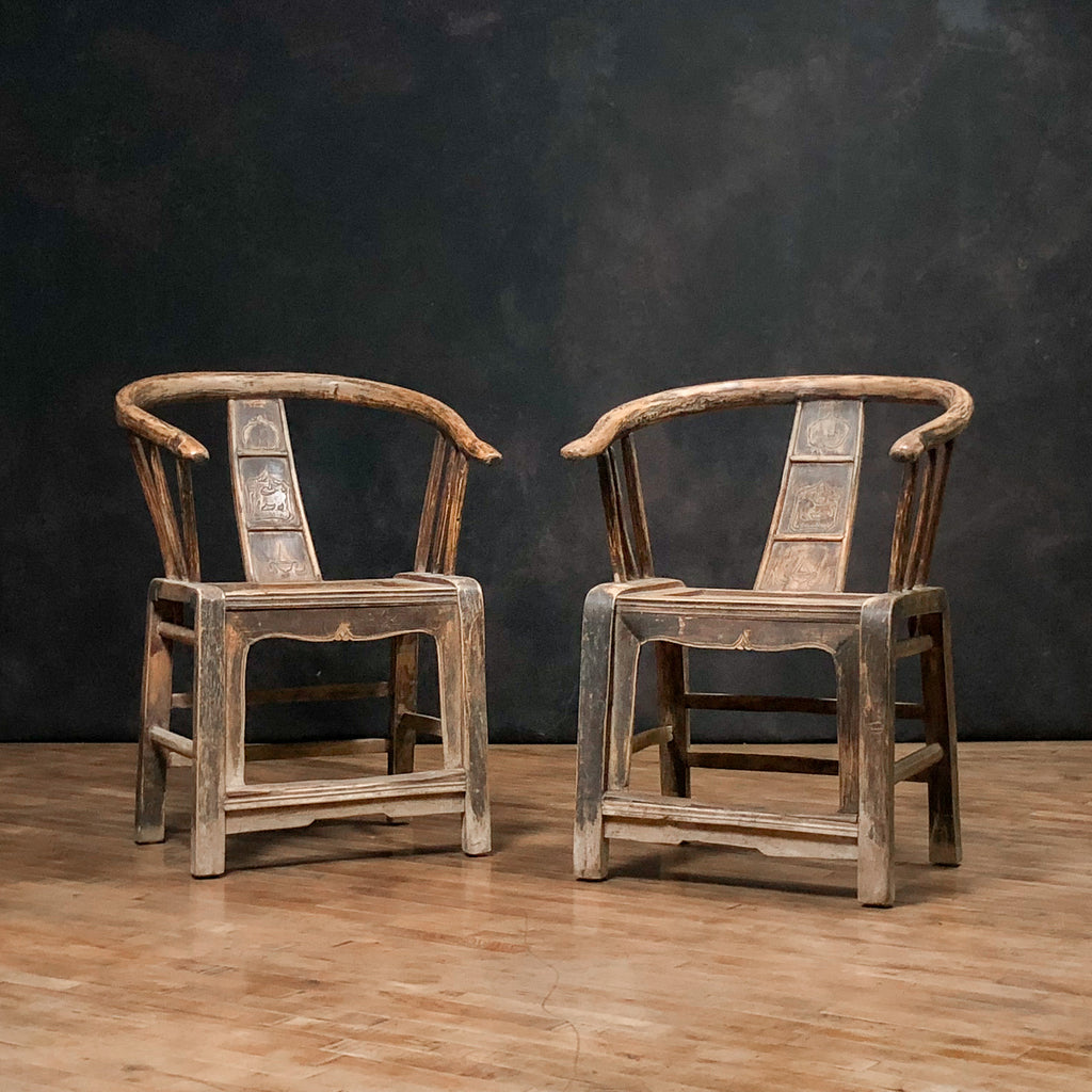 Antique Willow Armchairs - Royal Circus