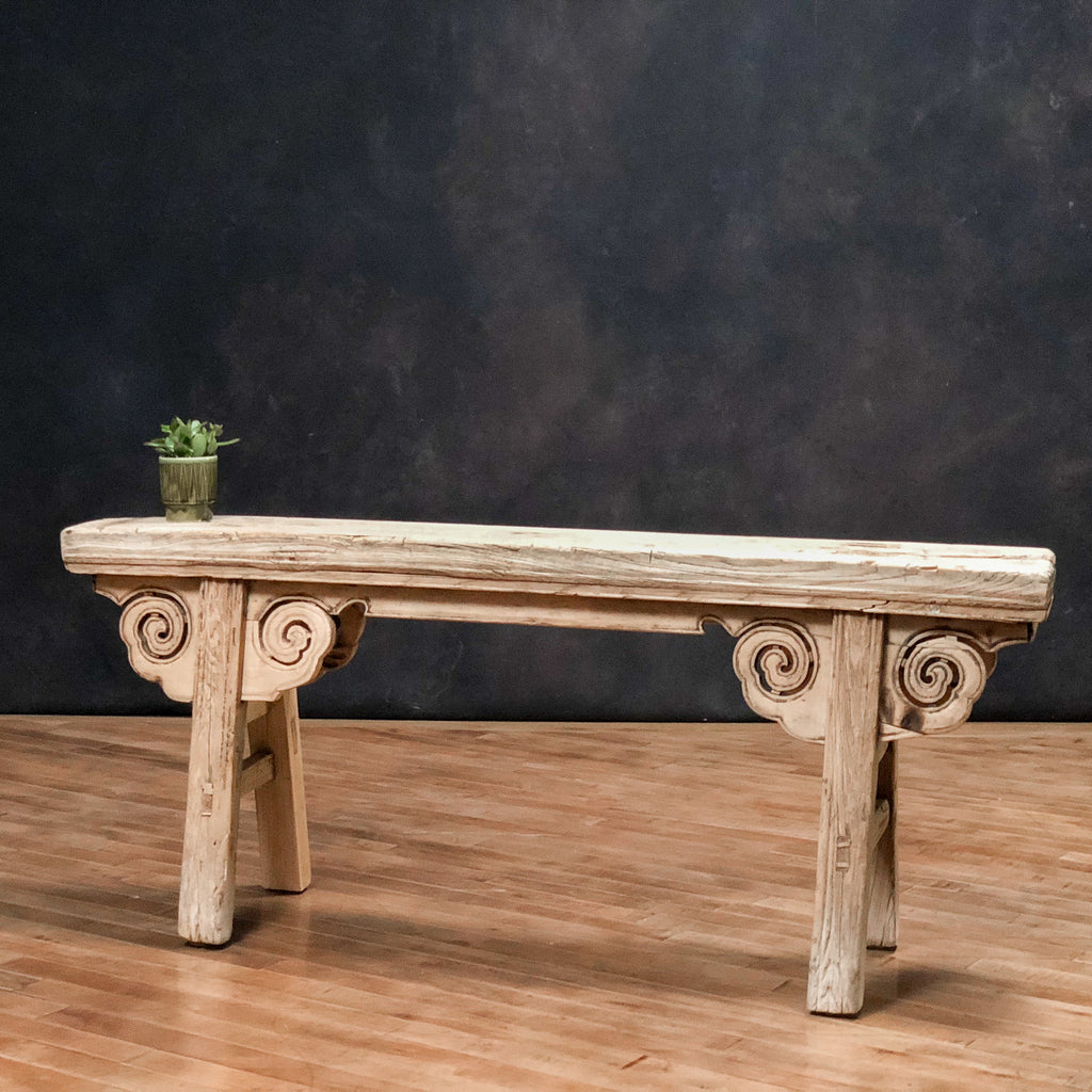 Antique Plank Top Bench_Royal Circus