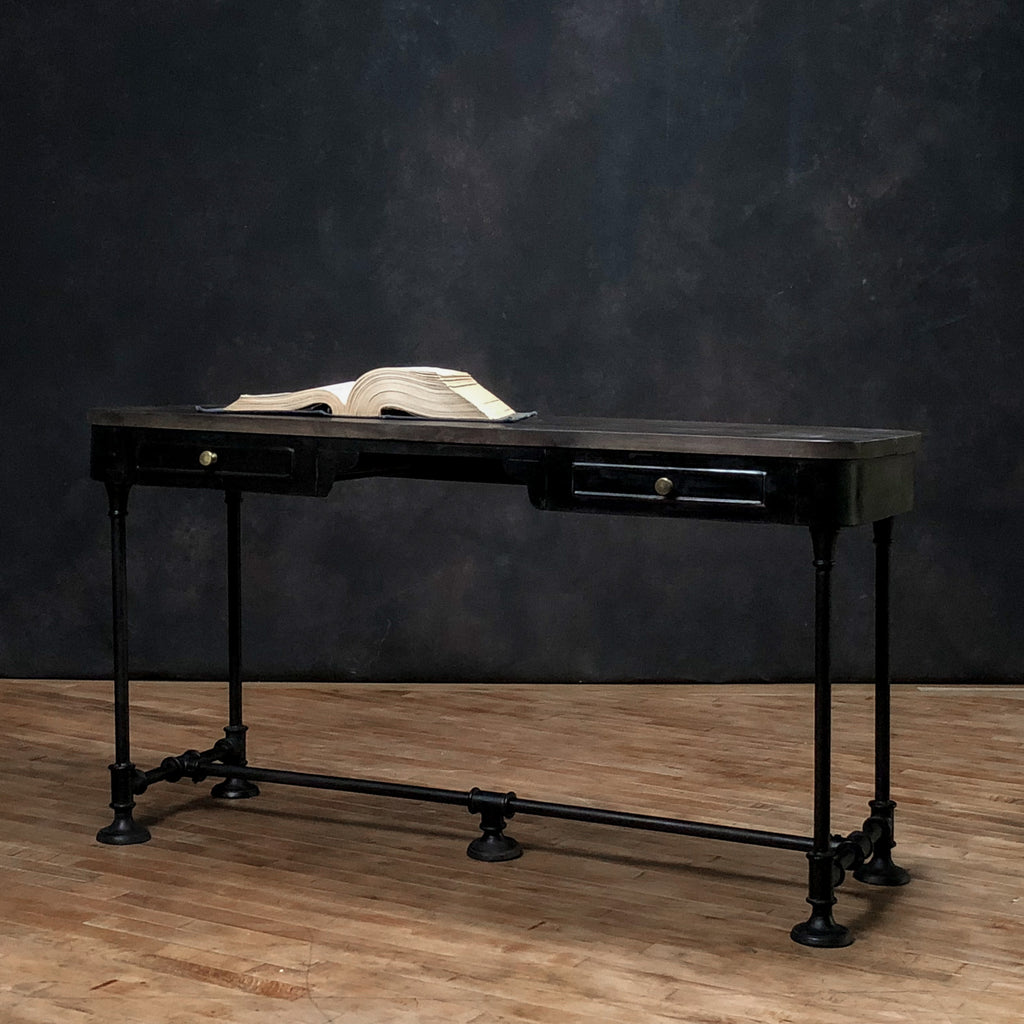 Wood + Iron Desk #6