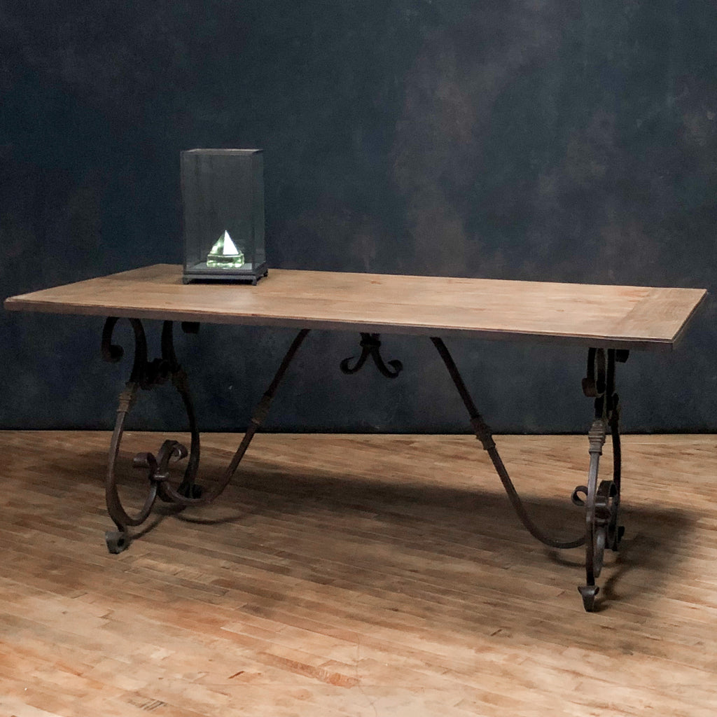 Sculpted Iron Dining Table - Royal Circus