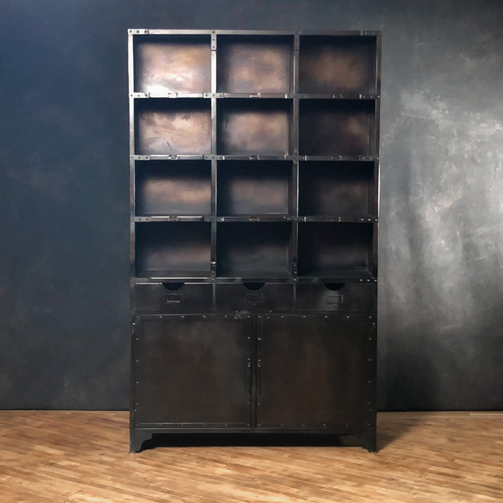 Industrial Iron Bookshelf #3_Royal Circus