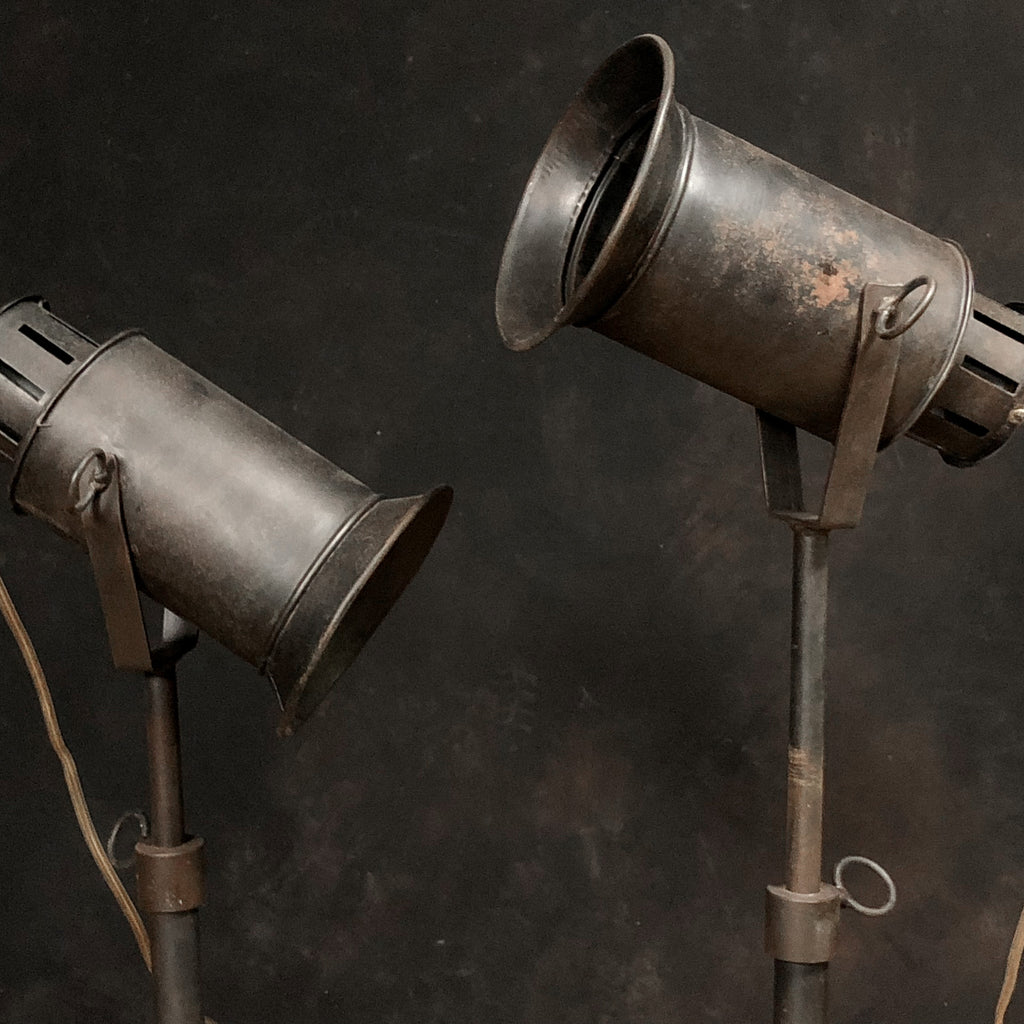 Iron Table Lamp #2, Black_Royal Circus