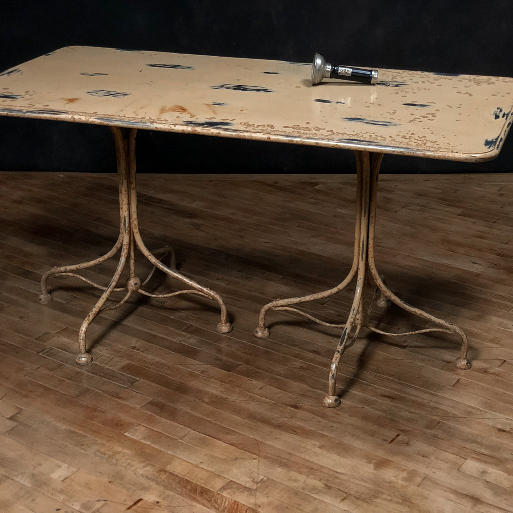 Aged Metal Dining Table_Royal Circus