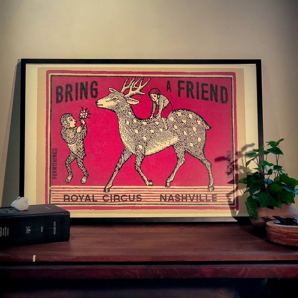 Bring A Friend - Paper_Royal Circus