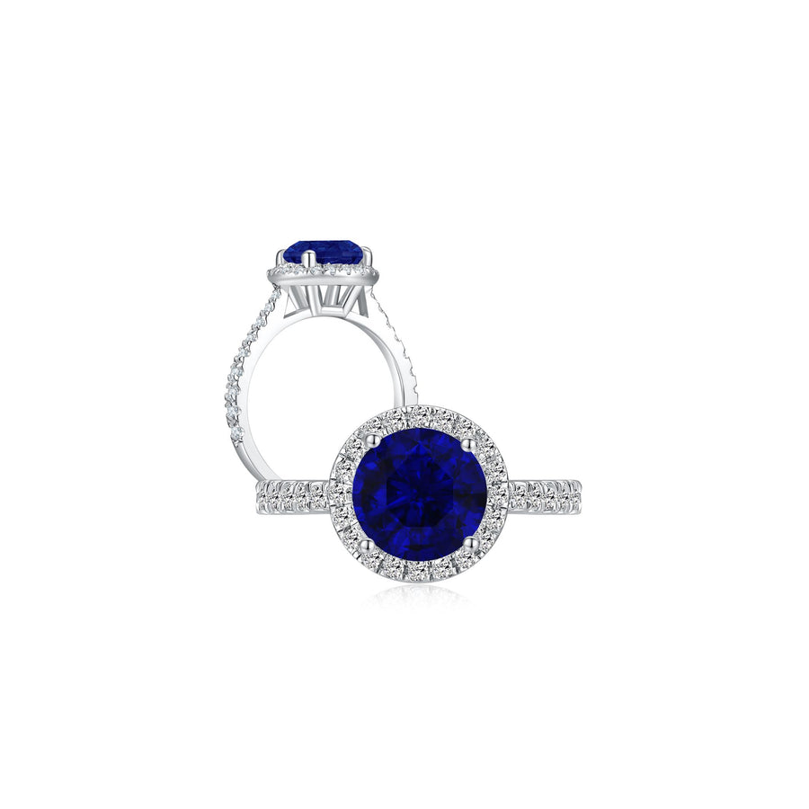 Annabelle in Blue Ring both - Eclat by Oui