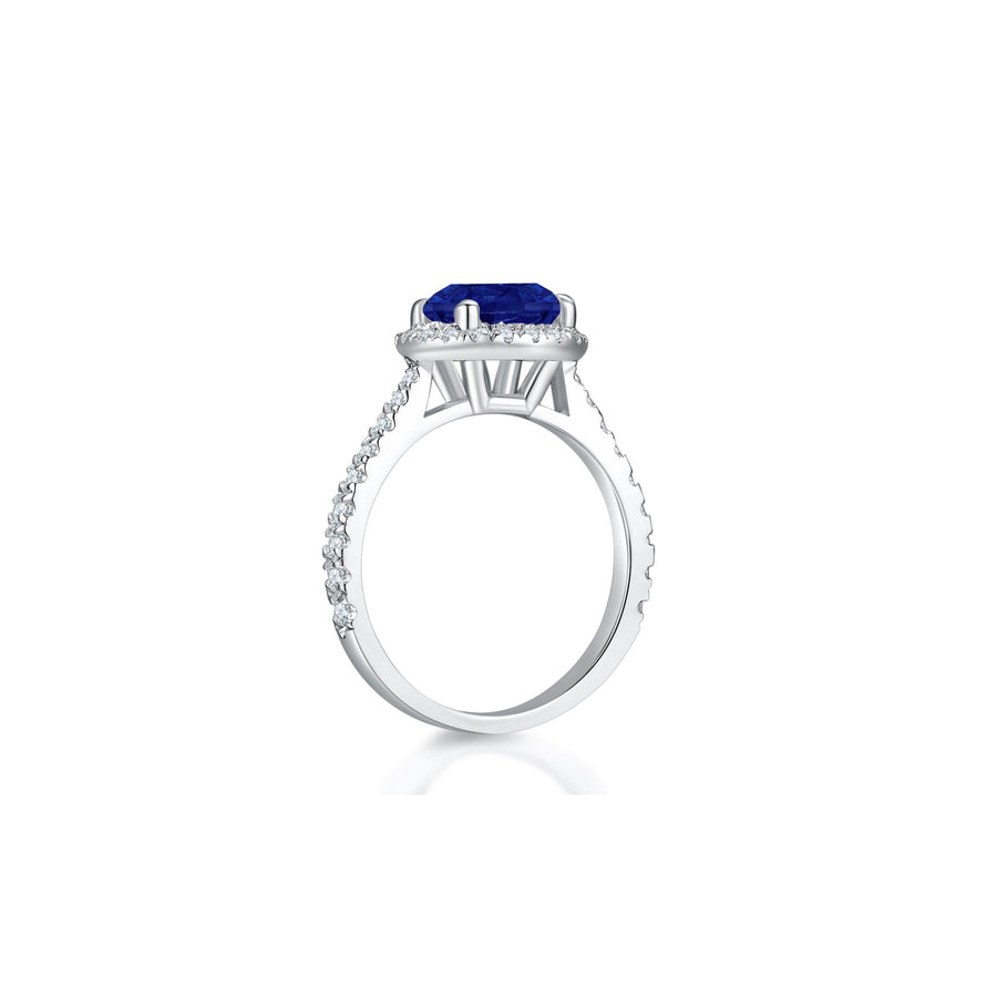 Annabelle in Blue Ring side - Eclat by Oui