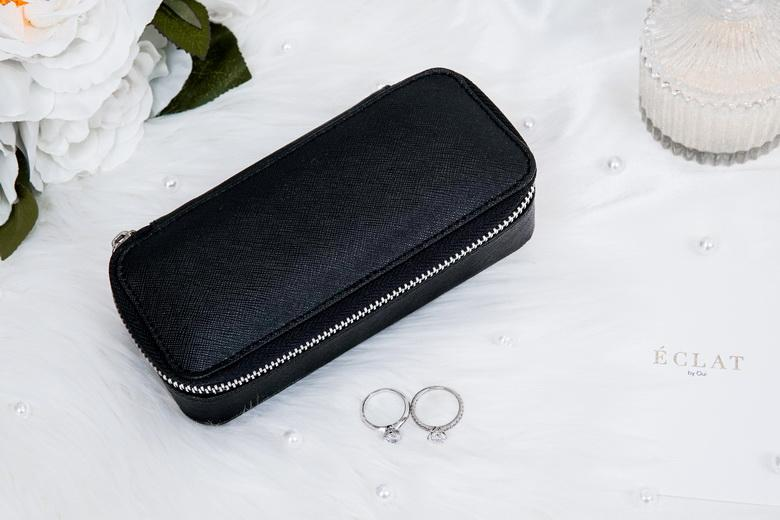 Jewellery Travel Case - Black
