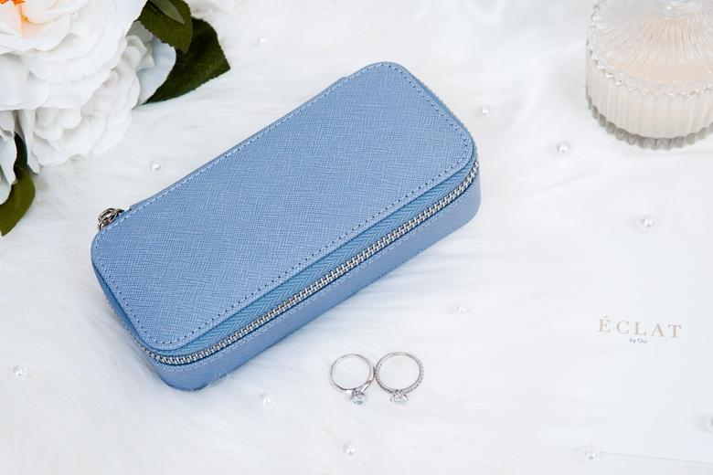 Jewellery Travel Case - Blue