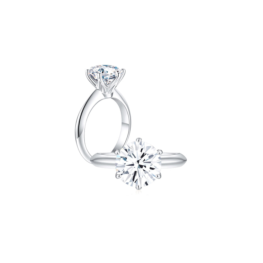 Éclat Classic Solitaire Ring both - Eclat by Oui