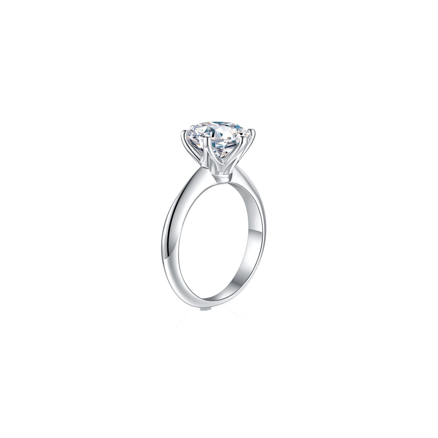 Éclat Classic Solitaire Ring side - Eclat by Oui