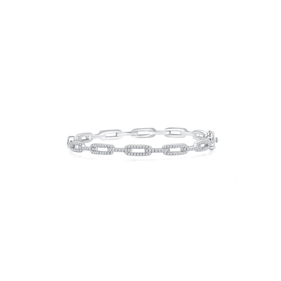 Rae Chain Bangle (Front) - Eclat by Oui