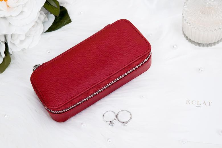 Jewellery Travel Case - Red