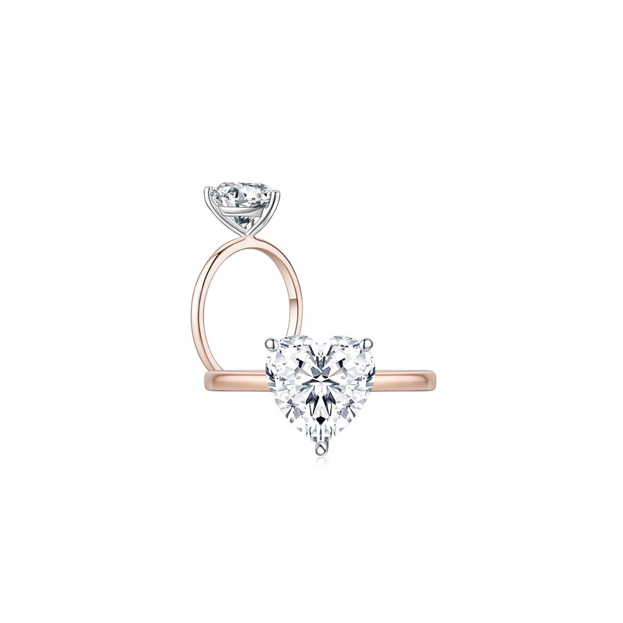 Super Skinny Band Heart Stone - Eclat by Oui