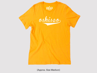 Oshisco Unisex T-Shirt - Yellow
