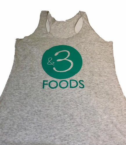 Women's &3 Light Grey Tank
