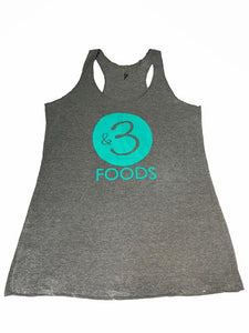 Women's &3 Dark Grey Tank