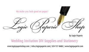 DIY Wedding Invitation and Stationery in Cambridge Ontario Canada