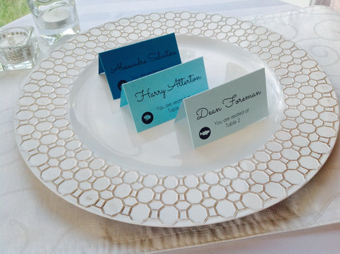 Escort Cards, Place Cards Ombré style wedding escort cards-Logie Paperie Shop