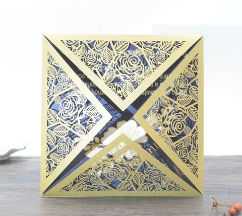 Laser Cut Invitation Kit-Logie Paperie Shop