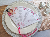Wedding Programs | Beach Fan Wedding Program-Logie Paperie Shop