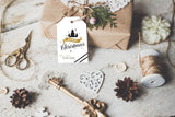 Christmas Gift Tag for Men, Set of 8