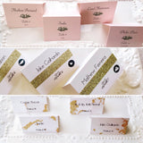 Blush Pink Wedding Escort Cards and Place Cards-Logie Paperie Shop