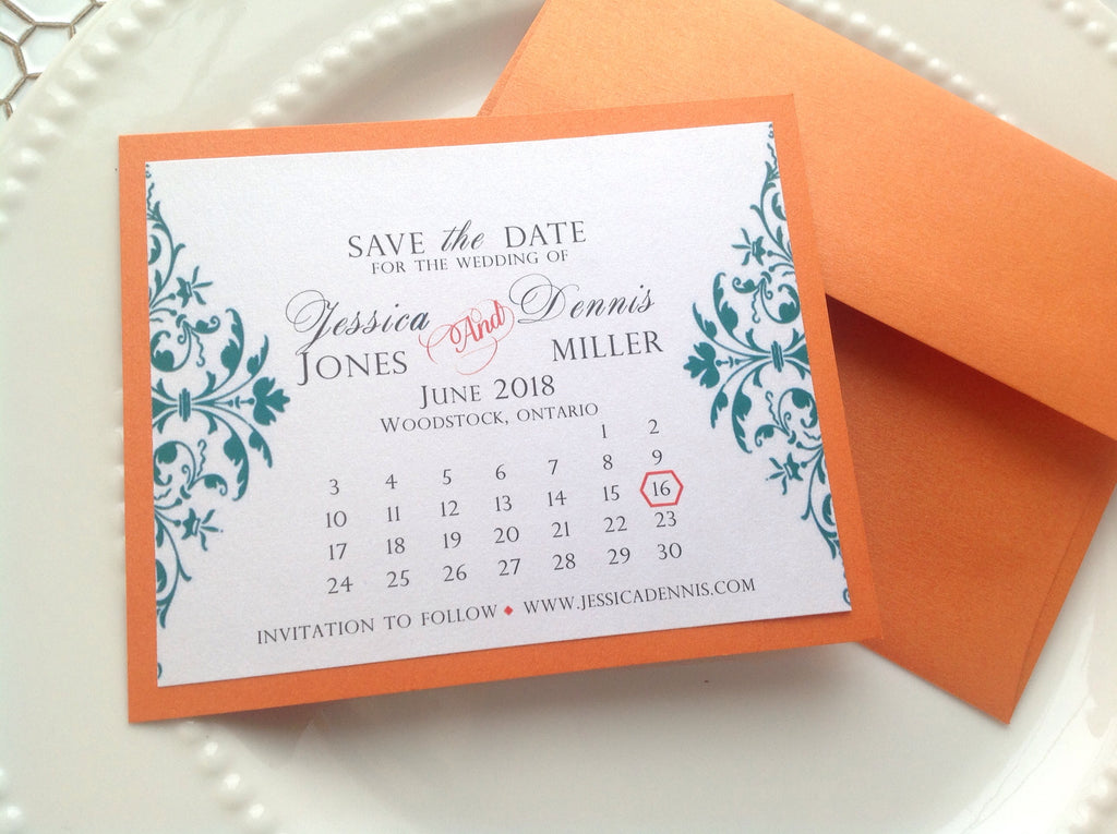 save the date calendar cards wedding save the date logie paperie shop