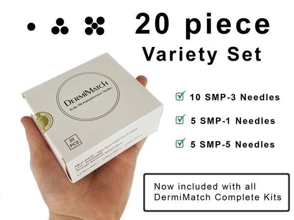 20 Piece Sample pack - DermiMatch Needles