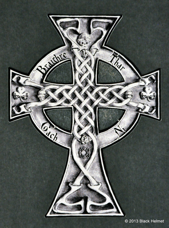 Braithre Cross Decal