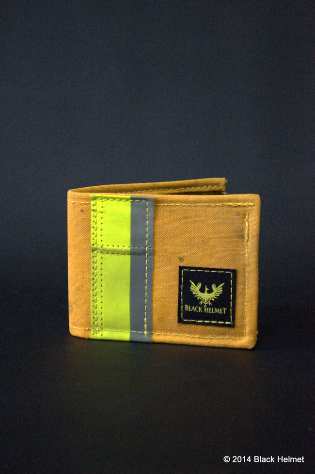 Bunker Gear Deluxe Bi-fold Wallet (Yellow)