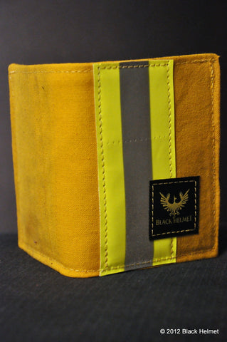 Used Bunker Gear Badge Wallet (Bi-fold, Tan)
