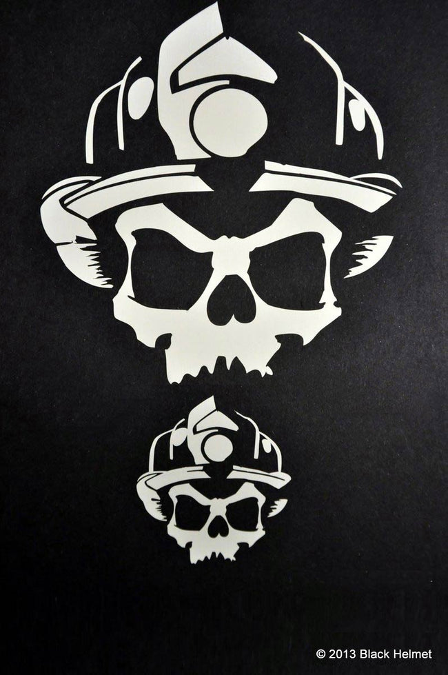 Skull Logo Vinyl Decal Pack