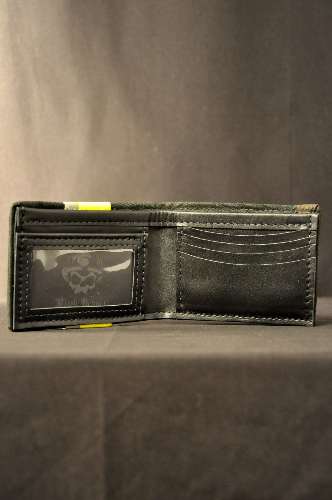Bunker Gear Window Bi-Fold Wallet (Black)