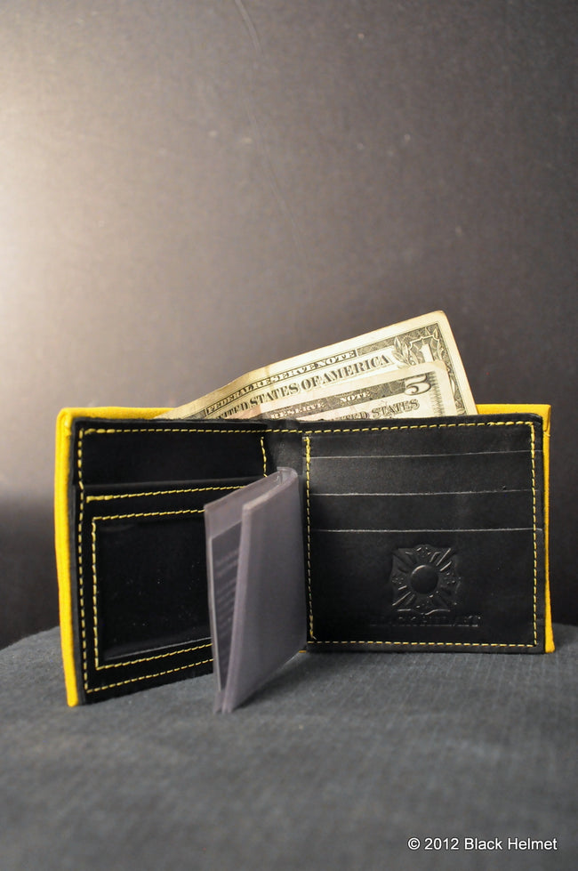 Bunker Gear Bi-Fold Wallet (Yellow)