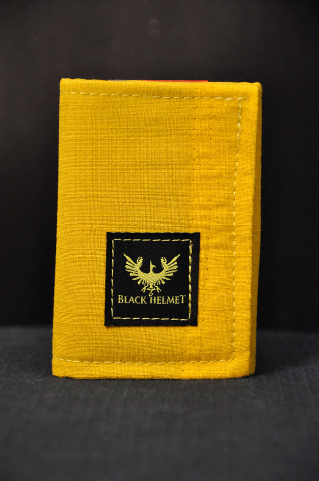 Bunker Gear Tri Fold ID wallet (Yellow)