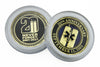 "EMS Limited Edition 20th Anniversary World Trade Center 2001-2021 Never Forget ""Commemorative Challenge Coin"