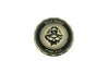 Black Helmet Lucky Fight Fire Challenge Coin