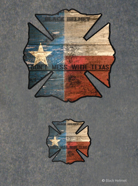 Texas Maltese Decal Pack