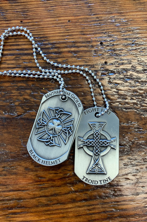 Braithre Thar Gach Ni - Brotherhood Before All Dog Tag