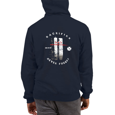 9/11 343 Forever Remembered Champion Hoodie