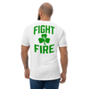 "Black Helmet ""Fight Fire"" Tee - St. Patrick's Day Special (Front/Back Print)"