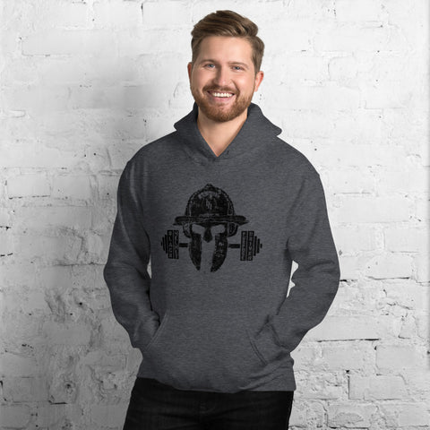 Purpose Driven No Quit Black Helmet Fit Hooded Sweatshirt