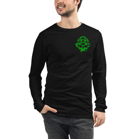 St. Florian Protect Us Irish  - St. Patrick's Day Special Bella Canvas Long Sleeve Tee