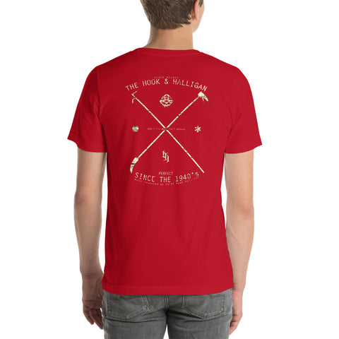 Hook and Halligan  Bella Canvas T-Shirt